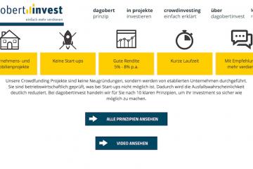 crowdinvesting dagobertinvest website