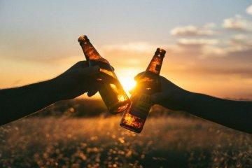 ein-zwei Bier gehen immer