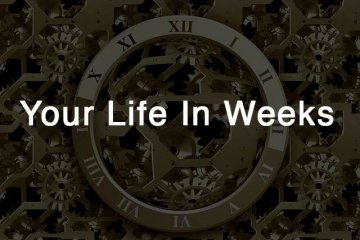 Your life in weeks
