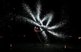 Performance einer Tänzerin - Vergleichbar mit einer Portfolioperformance