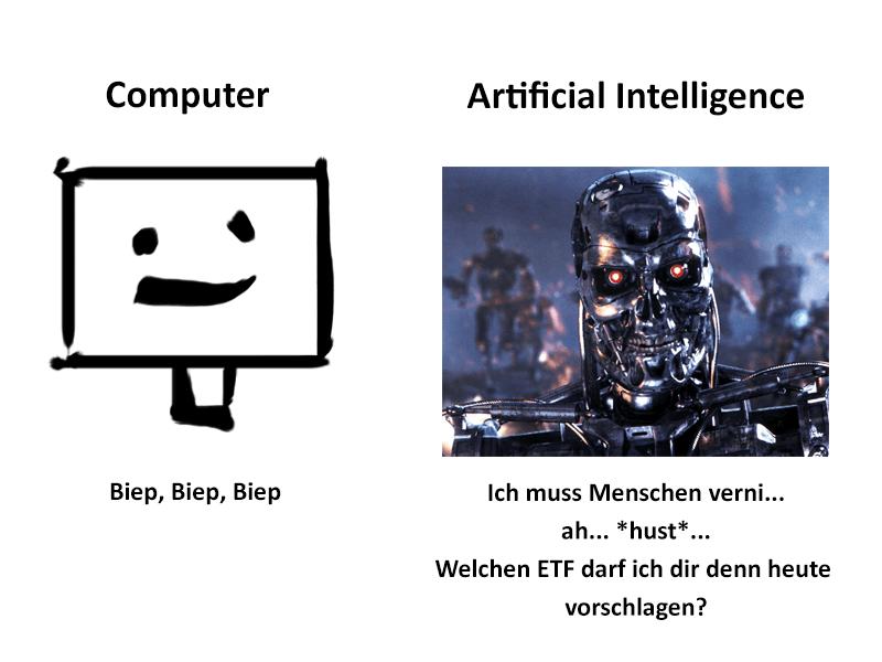Computer vs. AI
