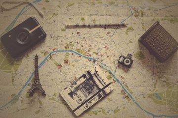 Eine Landkarte