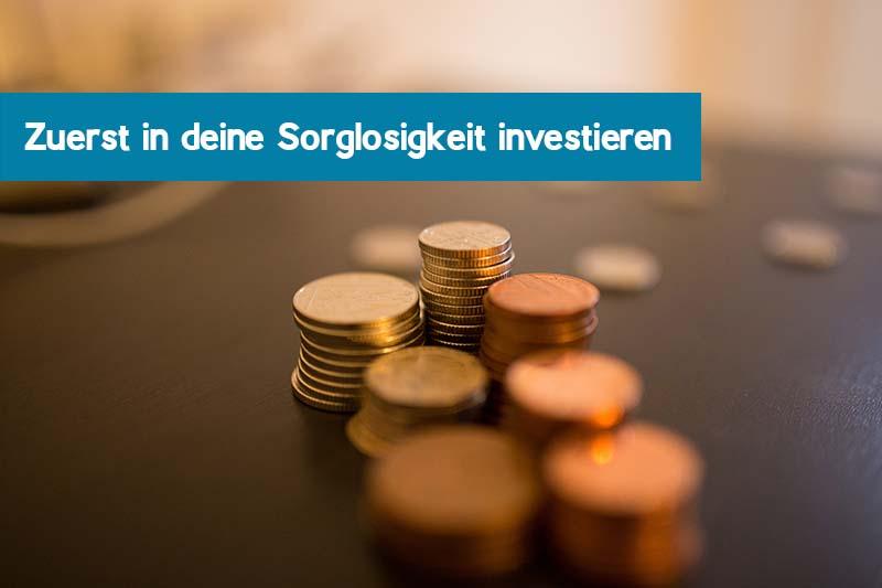 1000 Euro in die Sorglosigkeit investieren